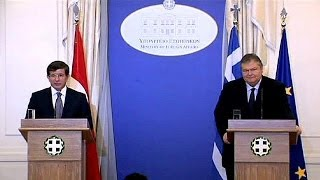 Turkish and Greek Foreign Ministers meet for talks on Cyprus
