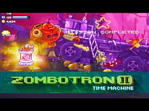 Zombotron 3 stage 16 (Time Machine)