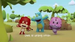 Uwa and Friends , OST versi Indonesia