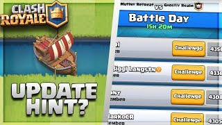 """""""NEW"""" BOAT COMING TO CLASH ROYALE?! NEW APRIL UPDATE DISCUSSION / SNEAK PEEKS!"""