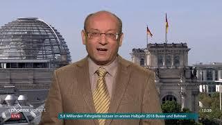 Prof. Emanuel Richter zum Streit innerhalb der Großen Koalition am 20.09.18