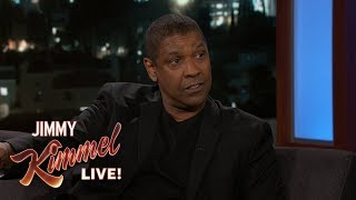 Jimmy Kimmel Reveals Denzel Washington Saved the Oscars