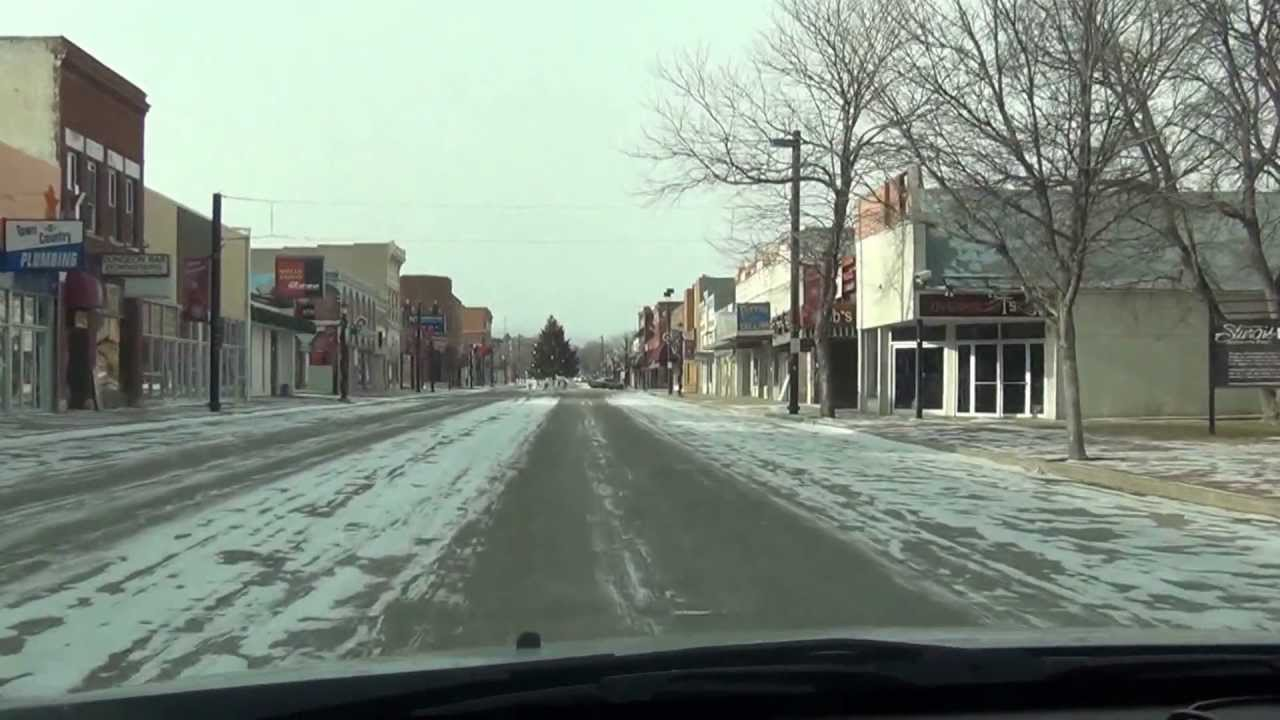 tour through sturgis sd in the winter time 12 24 12 youtube rh youtube com