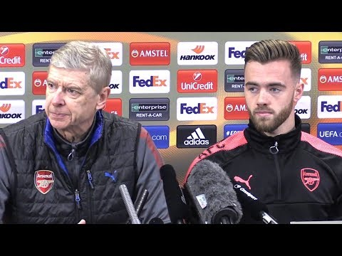 Arsene Wenger & Calum Chambers Full Pre-Match Press Conference - Arsenal v Ostersund - Europa League