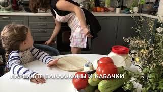 Легкая запеканка из овощей и адыгейского сыра