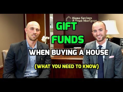 Gift Funds When Purchasing a House   How Real Estate Gift Money Works with a Mortgage