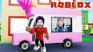 Roblox: ENDLICH A EISWAGEN - Nina & Kaan Become REICH ALS EISSELLER   Ice Cream Van Simulator