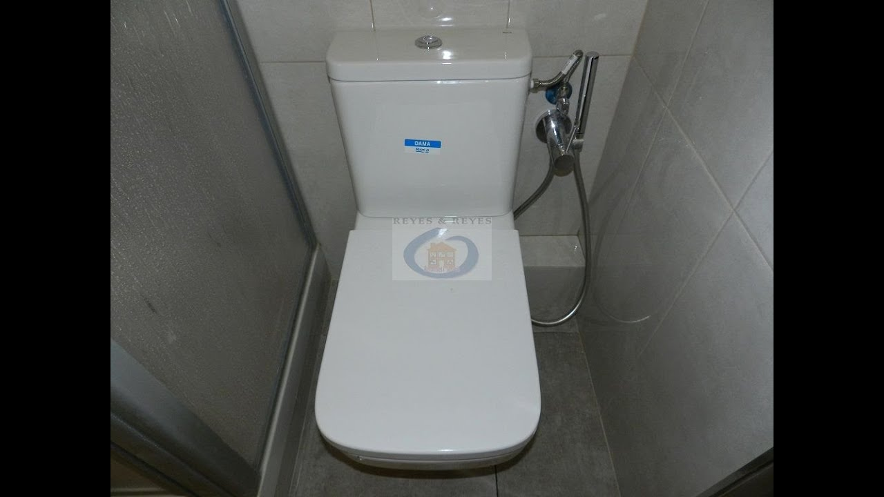 Reformas de cocina peque a y ba o con ducha higi nica en - Grifos de cocina de pared ...