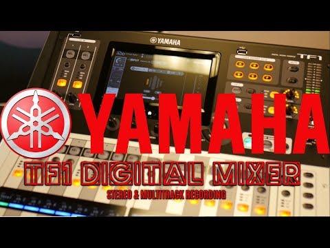 Yamaha TF1 16 Channel Digital Mixer | Part 7 - Multitrack Recording