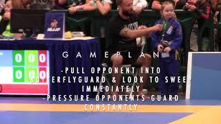 Makings of a world champion in Jiu-Jitsu - Watch Lorelei's journey, development and game-plan
