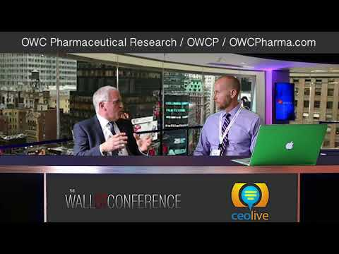 Wall St Conference 2018 - Interview with OWC Pharmaceutical Research (OWCP)