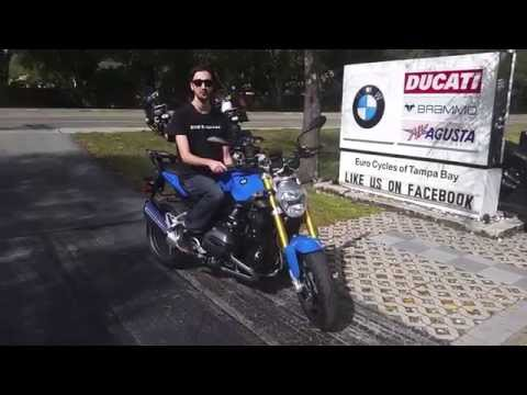 2015 BMW R1200R Delivery at Euro Cycles of Tampa Bay