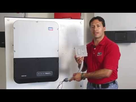Tech Tip: (Spanish Version) Sunny Boy 5.0-US/6.0-US Secure Power Supply