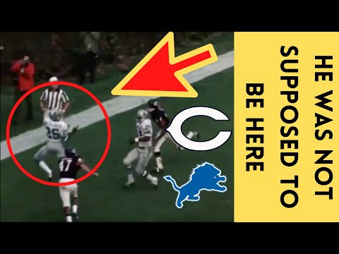 [OC] [Highlight] In a 1970 game against the Bears, the Lions won 16-10 after scoring the go-ahead TD in the fourth quarter on accident. Earl McCullouch did not know the play, was not supposed to be in the area, didn't know where the ball was, and caught the TD pass. This is the story behind that