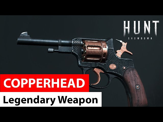 Copperhead for Nagant M1895 | Legendary Weapons of Hunt: Showdown