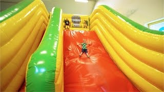 [Part 1/4] Indoor Playground Fun for Kids and Family at Lek & Bus Nacka