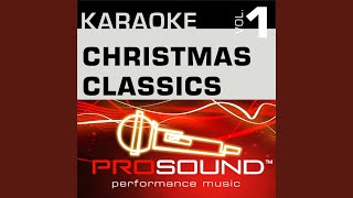 A Holly Jolly Christmas Karaoke Instrumental Track In the