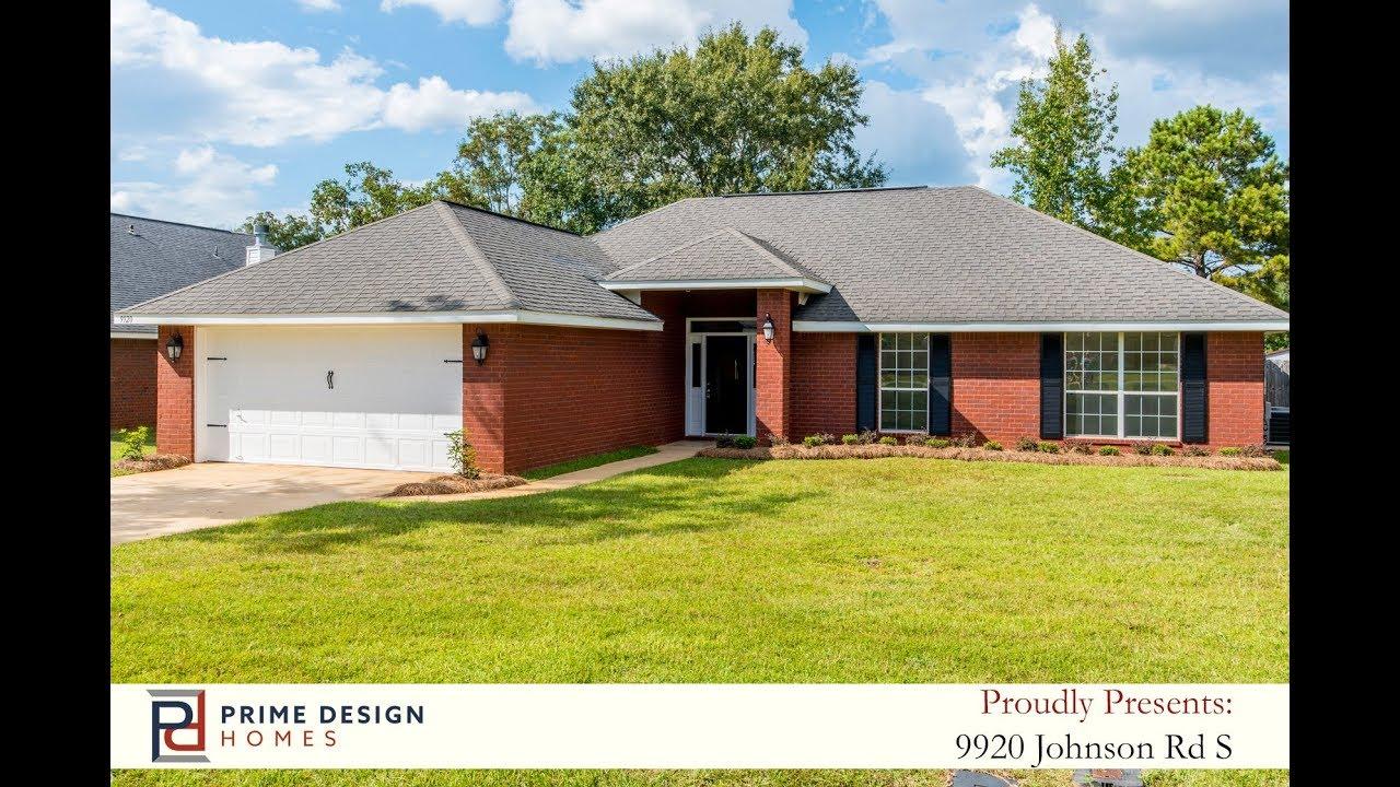 9920 johnson rd s mobile al 36695 prime design homes