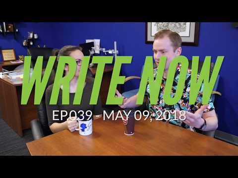 Write Now - Ep.039: Raiding Brian's Pen Collection