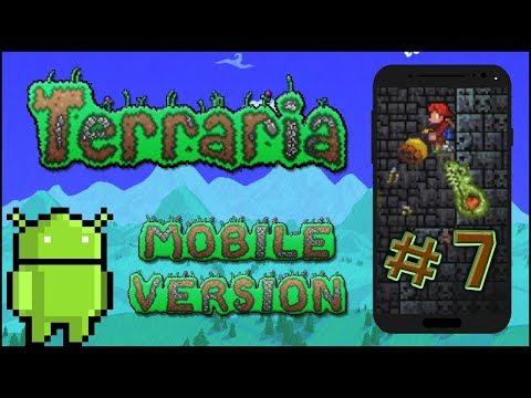 Terraria Mobile Version #7 - Złoty klucz... w złotej skrzyni?