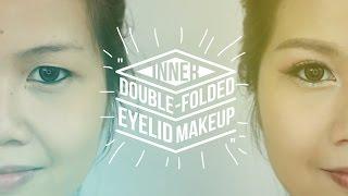 Inner Double Folded Eyelid Makeup