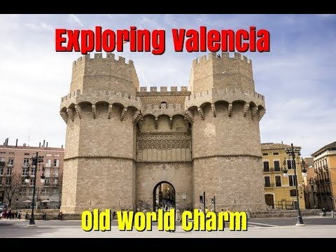 Exploring Valencia Spain.  Old World Charm of the inner walled city.  Ep101