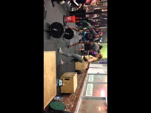 Rachel Goldenberg Crossfit Open 14.3