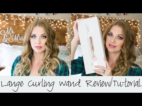 Lange Curling Wand Review    Hair Tutorial    Wow!