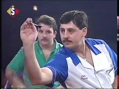Phil Taylor vs Dennis Priestley 1990 Winmau World Masters Semi Final