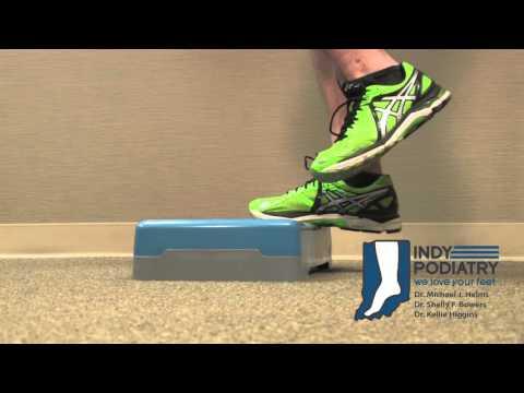Achilles Tendonitis Eccentric Exercise