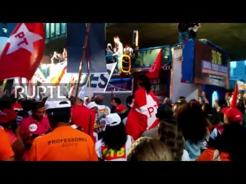 Brazil: Fires blaze in Sao Paulo as protesters demand Temer stand down