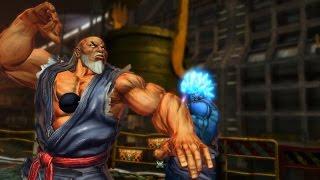 "[PC] Street Fighter X Tekken - Playthrough ""Ogre as Gouken&Akuma as Oni"" (Costume Mod)"
