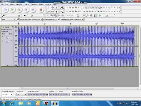 how to change music vocal tempo bpm audacity