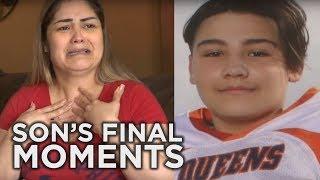 Tearful Mom Recalls Son