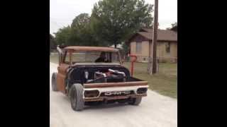 1964 Chevy C10 Hercules Diesel like a Cummins 4bt
