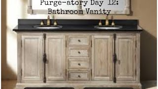 Purge-atory Day 12: Bathroom Vanity