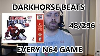 Olympic Hockey 98 - The Great N64 Challenge - Darkhorse Beats Every Nintendo 64 Game