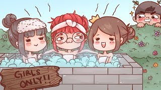 I Made a Jacuzzi in Minecraft - Ft. OfflineTV and Friends!