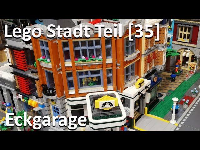 Lego Stadt Teil [35] - Eckgarage integrieren