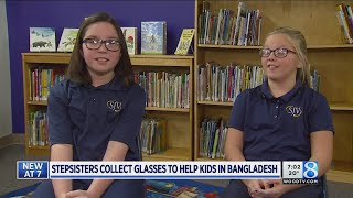 W. MI stepsisters collect glasses to help kids in Bangladesh
