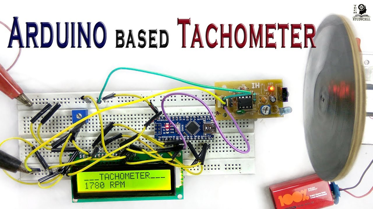 RPM Counter using microcontroller AT89C4051 Electronics