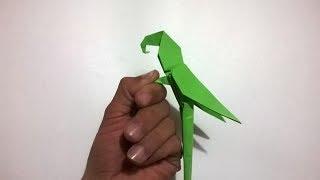 Origami Macaw Parrot - COMO HACER UN LORO DE PAPEL