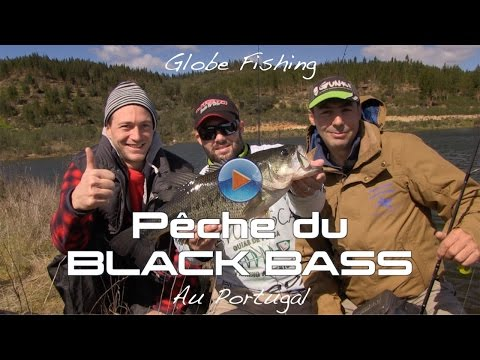 Peche du black-bass au Portugal globe fishing#2