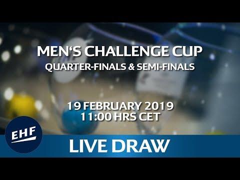 Men's Challenge Cup | Quarter-finals & Semi-finals | LIVE DRAW thumbnail