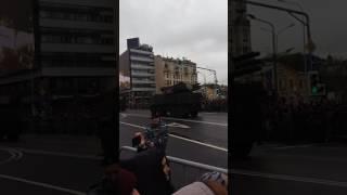Парад 9 мая 2017г. Часть 2. Движение военной техники по Арбату.
