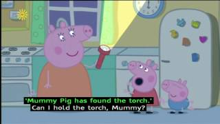 Peppa Pig (Series 2) - The Powercut (with subtitles)