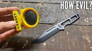 How Evil is tнe Lansky Quick Fix Sharpener