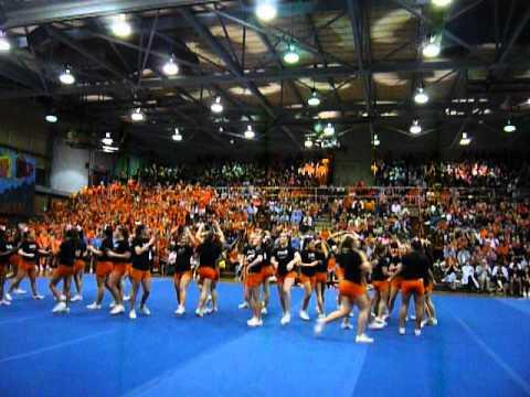 Pennsbury Cheerleaders - Sports Nite 2012