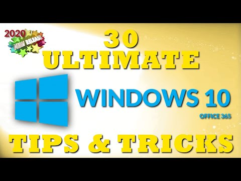 30 Ultimate Windows 10 Tips and Tricks for 2020