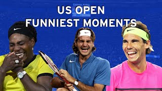 US Open Funniest Moments!